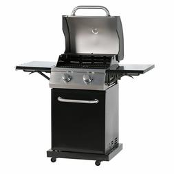 2-Burner Gas Grills Outdoor Barbeque Grill BBQ Cooker W/ Sid