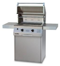 Solaire 27-Inch Deluxe Infrared Propane Grill on Square Cart