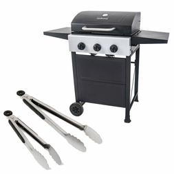 Master Cook 3 Burners Gas Grill  Barbecue Outdoor Propane Gr