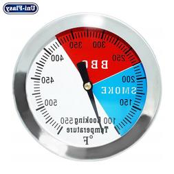 3 inch BBQ Gas Grill Thermometer for Smoker Wood Charcoal Pi