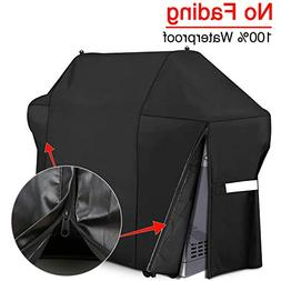 Patiassy 3 Layers Barbecue Gas Grill Cover 58 Inch 100% Wate