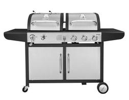 Royal Gourmet 3-Burner Cabinet Gas Grill and Charcoal Grill