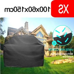"39"" BBQ Grill Cover Gas Electric Barbecue Heavy Duty Waterpr"