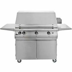 """39"""" PGS Pacifica Legacy Natural Gas Grill w/ Rotisserie On C"""