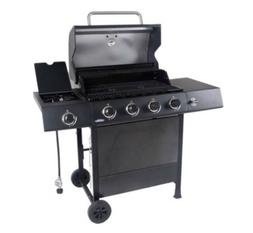 4 Burner Outdoor Gas Grill Barbecue with Side Burner RevoAce