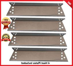 4 Pack Porcelain Steel Heat Shield Kenmore Sears BBQ Replace
