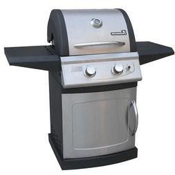 42202 Falcon 2 Burner LP Gas Grill with Folding Shelves
