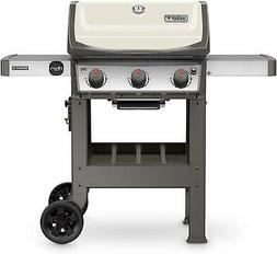 Weber 45060001 Spirit II E-310 Ivory LP Outdoor Gas Grill