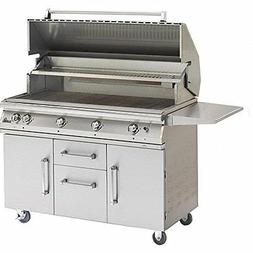 """51"""" Pgs Legacy Big Sur Natural Gas Grill  W/ Rotisserie On C"""