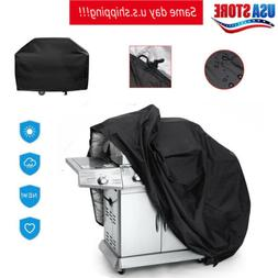 """57""""67"""" 75"""" Waterproof BBQ Cover Heavy Duty Gas Barbecue Gril"""