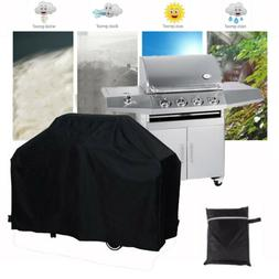 "58"" Outdoor Waterproof 4 Burner BBQ Grill Cover Patio Gas Ba"