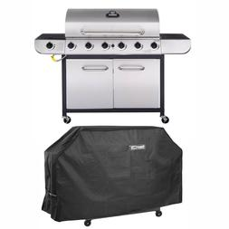Royal Gourmet 6-Burner BBQ Gas Propane Grill Sear Burner wit