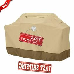 """64"""" BBQ Grill Cover 4-6 Gas Burners Protector For Char Broil"""