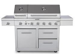 KitchenAid 720-0826E Propane Gas Grill, Stainless Steel