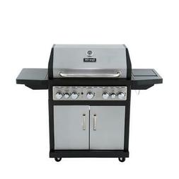 79,000 BTU 5-Burner Propane Gas Grill with Side Burner and R
