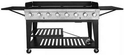 Royal Gourmet 8-Burner Event Propane Gas Grill 2 Folding Sid