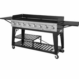 Royal Gourmet 8-Burner Liquid Propane Event Gas Grill, BBQ,