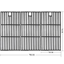 Hisencn Replacement Porcelain coated Cast Iron Cooking Grid