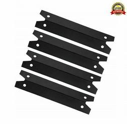 Hongso BBQ Gas Grill Porcelain Steel 4 Pack Heat Plate Shiel