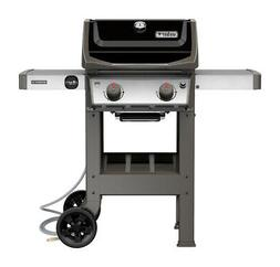 Spirit II E-210 2-Burner Natural Gas Grill, 26,500-BTU, Blac