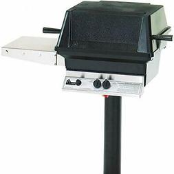 Pgs A30 Cast Aluminum Natural Gas Grill On In-ground Post