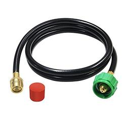 6-Feet Adapter Hose for Weber Q-series and Gas Go-Anywhere G