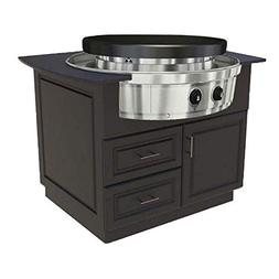 EVO Affinity 30G Series Grill on Cart , Ceramic Cooktop, Nat