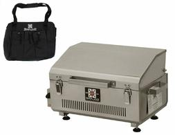 Solaire Anywhere Portable Infrared Propane Gas Grill, Stainl