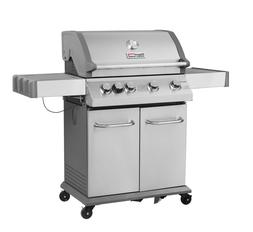 Royal Gourmet BBQ 4-Burner Propane Gas Grill Side Burner Sta
