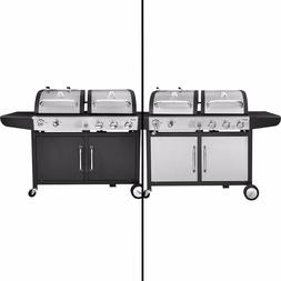 Royal Gourmet BBQ Gas Charcoal Grill Dual Fuel Combo ZH3002/
