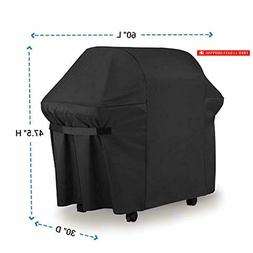 BBQ Gas Grill Cover 7107 for Weber: 44x60 in Heavy Duty Wate