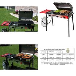 Camp Chef Big Gas 3 Burner Grill Black/red