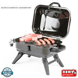 .Black 11000 BTU 220 Sq Portable Gas Grill Powered Standard