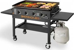 Blackstone 36 In Griddle Cooking Station 4 Burner Backyard P