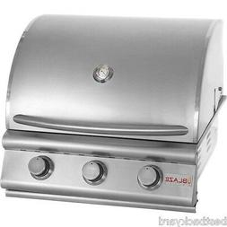 "BLAZE BBQ GRILLS 25"" STAINLESS STEEL 3-BURNER GAS BUILT IN /"