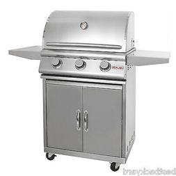 "BLAZE BBQ GRILLS 3-BURNER 25"" GAS BUILT / DROP IN BBQ GRILL"
