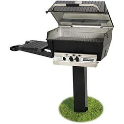 broilmaster h3 grill ground side