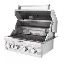Built-in Propane Gas Island Grill Head Stainless Steel with