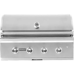 Coyote C-series 36-inch 4-burner Built-in Natural Gas Grill