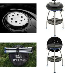 Carri Chef 2 Portable Propane Gas Grill with Pot Stand, Grid