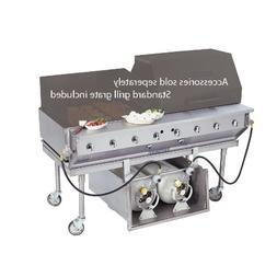 "Bakers Pride CBBQ-60S-P 60"" Ultimate Outdoor Gas Charbroiler"