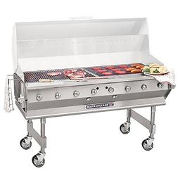 "Bakers Pride CBBQ-60S 60"" Ultimate Outdoor Gas Charbroiler"