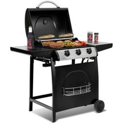 char broil 3 burner gas grill portable