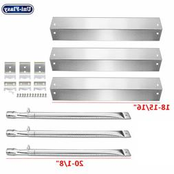 Char Griller Gas Grill Replacement Parts Kit Heat Plates Bur