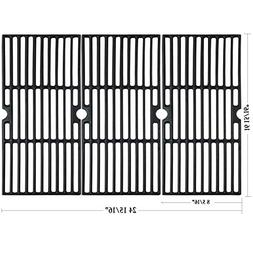 Hisencn Matte Porcelain Coated Cast Iron Cooking Grid Set Re
