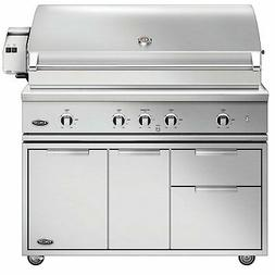 """DCS Evolution Freestanding Gas Grill with Rotisserie, 48"""", P"""