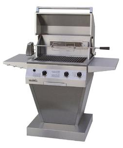 Solaire 27-Inch Deluxe Infrared Natural Gas Pedestal Grill w