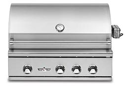 Delta Heat Built-in Grill with Infrared Rotisserie , 32-Inch
