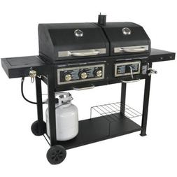 USA Premium Store Dual Fuel Combination Charcoal/Gas Grill P
