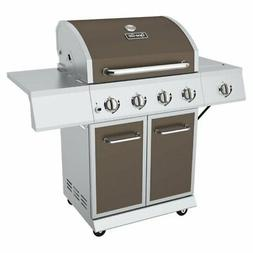 Dyna-Glo 4-Burner Propane Gas Grill with Side Burner